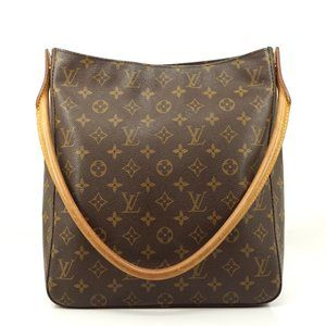 Auth Louis Vuitton Looping Gm Shoulder #5933L21